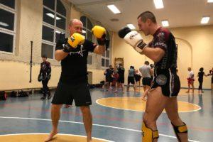 Trening w klubie Nak Muay Szczecin
