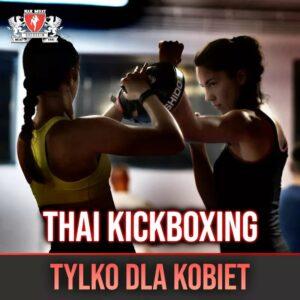 Muay Thai kickboxing dla kobiet Szczecin Nak Muay